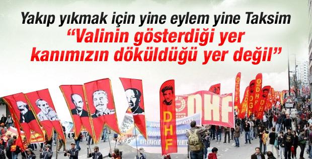 DİSK 1 Mayıs'ta Taksim'e çıkmaya kararlı