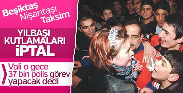 İstanbul'da yılbaşı öncesi güvenlik önlemleri
