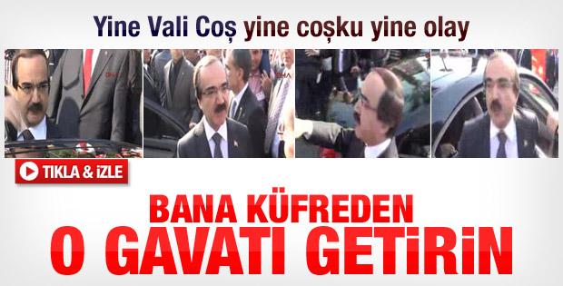 Adana Valisi ile vatandaşlar arasında gerginlik - izle
