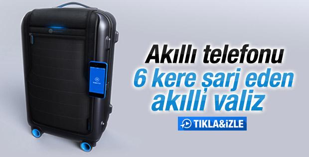 Dünyanın ilk akıllı valizi 2015'te satışa çıkacak İZLE