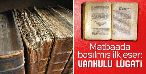 Nadir kitaplar: Vankulu Lügati