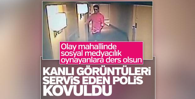 Vatan Şaşmaz'ın görüntülerini sızdıran polis ihraç edildi