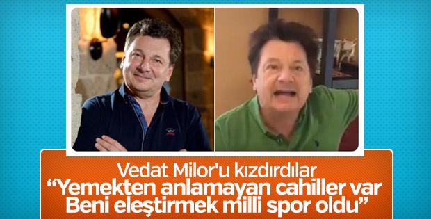 Vedat Milor: Türk lokantaları benim için bitmiştir