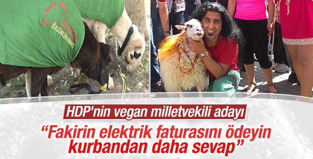 Vegan Özgürlük Hareketi kurbana karşı çıktı