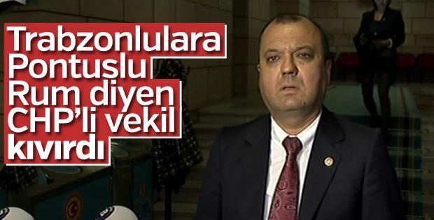 CHP'li Aygun Trabzonlulardan özür diledi