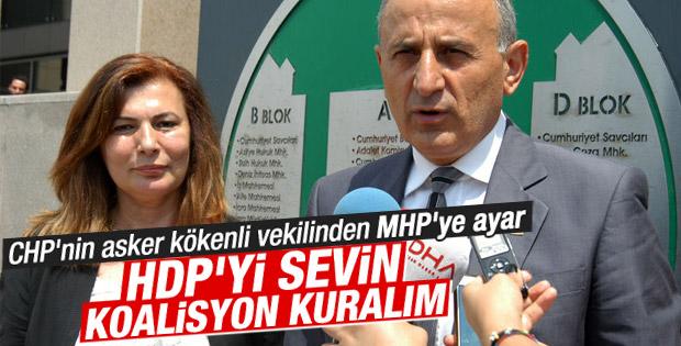 Dursun Çiçek'ten MHP'ye HDP uyarısı