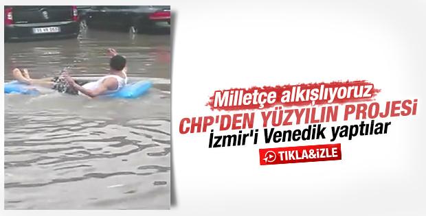 İzmirliler sokağa deniz yatağıyla çıkıyor