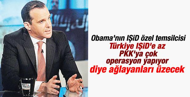 ABD'li Temsilci: Türkiye IŞİD'i vurmuyor algısı yanlış