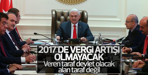 Başbakan Yıldırım'dan vergi açıklaması