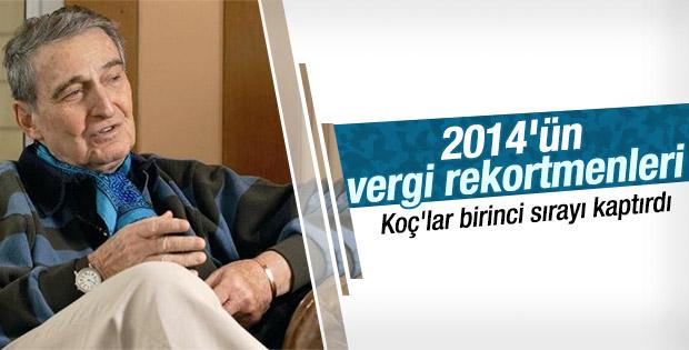 Türkiye'nin vergi rokertmenleri açıklandı