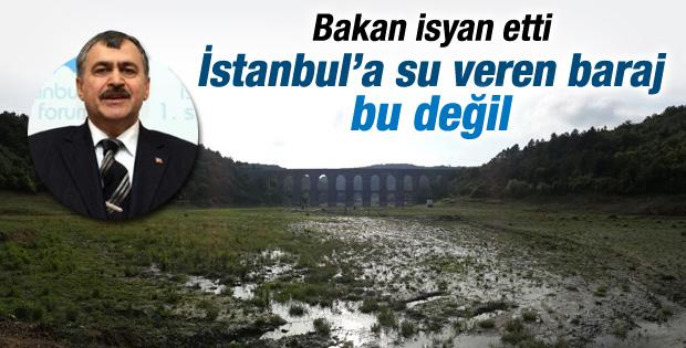 Bakan Eroğlu'nun Alibeyköy Barajı isyanı