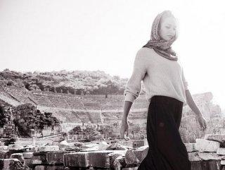 Candice Swanepoel Efes'e gitti