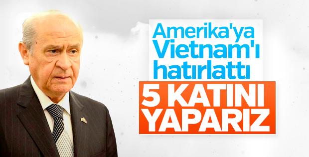 Devlet Bahçeli ABD'ye Vietnam'ı hatırlattı