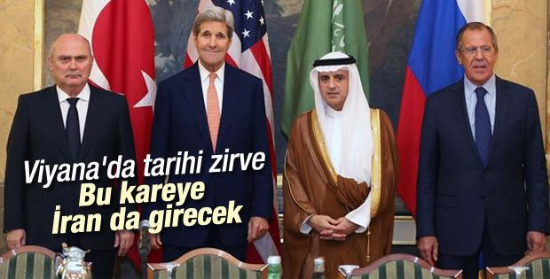 Suriye toplantısına İran da davet edildi
