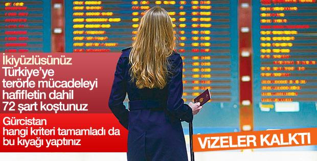AB, Gürcistan vatandaşlarına vizesiz seyahat hakkı verdi