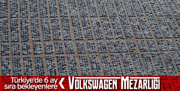 Kaliforniya'daki Volkswagen mezarlığı