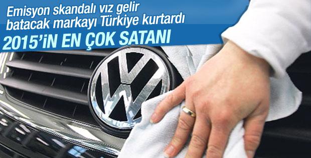Türkiye'de en çok Volkswagen satıldı