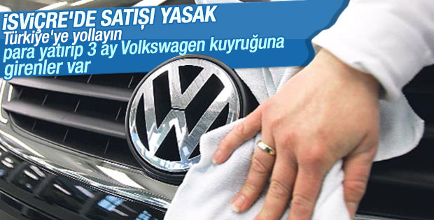 İsviçre'de Volkswagen satışı yasaklandı