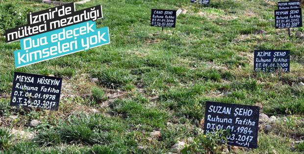 İzmir'de kimsesiz mülteciler mezarlığı: 412 numaralı ada