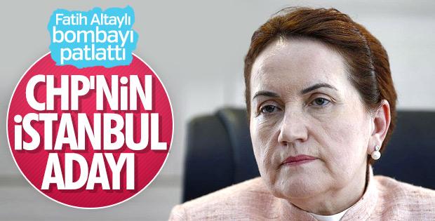 CHP'nin İstanbul adayı: Meral Akşener