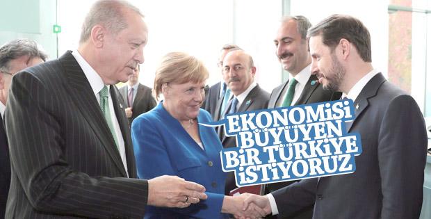 Merkel ve Erdoğan'ın ortak basın toplantısı