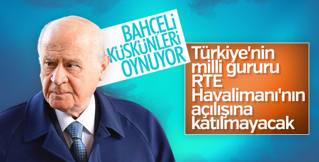 Bahçeli İstanbul'daki 29 Ekim resepsiyonunda yok
