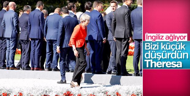 Theresa May İngiltere basınında: Rezil edildi
