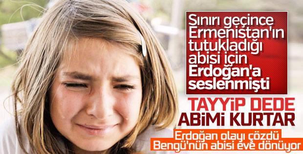 Erdoğan Ermenistan Başbakanı'nı aradı: Umut Ali serbest