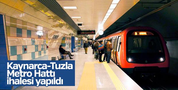 Kaynarca-Tuzla Metro Hattı'nın ihalesi gerçekleşti