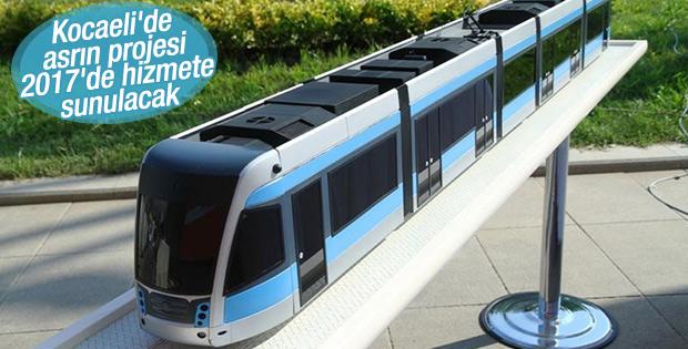 Kocaeli tramvay hattının temeli atıldı