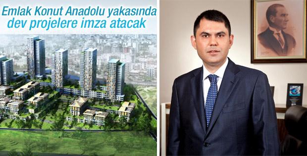 Emlak Konut Anadolu Yakası'nda yeni bir kent kuracak