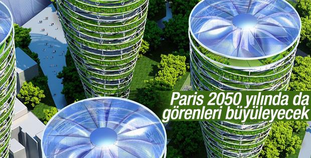 Paris 2050 yılında da görenleri büyüleyecek