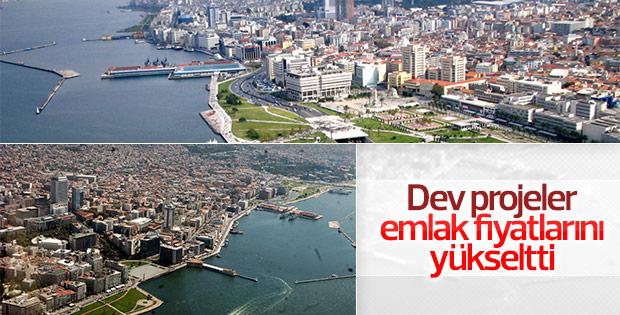 İzmir'de emlak fiyatları arttı