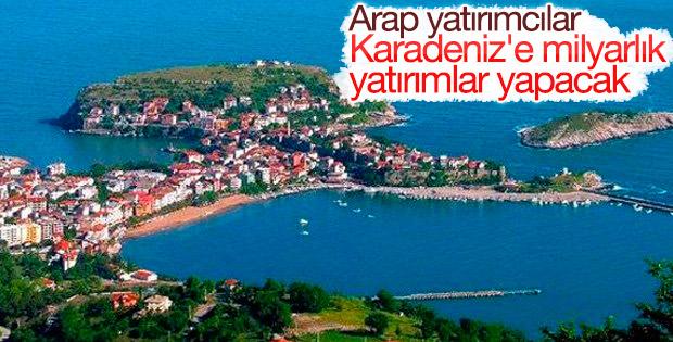 Arap yatırımcılar Karadeniz kıyılarını tercih ediyor