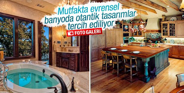 Türkiye'de mutfak ve banyo tercihleri