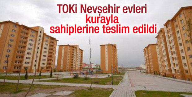 TOKİ Nevşehir evleri kurayla sahiplerine teslim edildi