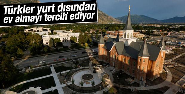 Türkler yurt dışından ev alıyor