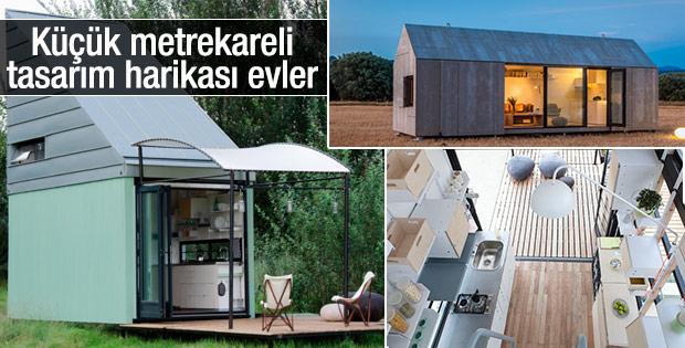 Küçük metrekareli tasarım harikası evler