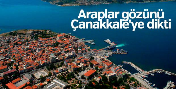 Araplar Çanakkale'ye yatırım yapıyor