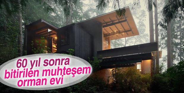 Amerikalı mimarın 60 yıldır üzerinde çalıştığı harika ev