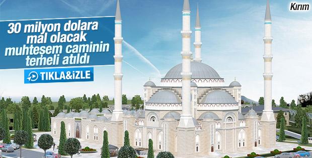 Kırım'a 5 bin kişilik cami inşa edilecek