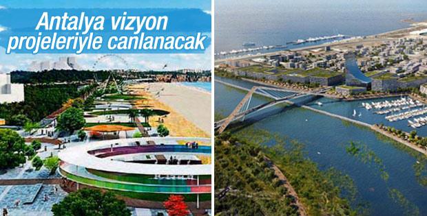 Antalya yeni projelerle canlanacak
