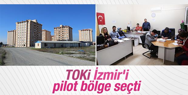 TOKİ pilot bölge olarak Torbalı'yı seçti