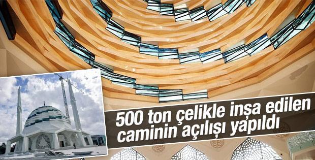 Üsküdar'da inşa edilen Tatbikat Cami'nin açılışı gerçekleşti