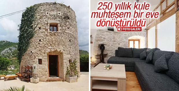 Hvar Adası'ndaki kule muhteşem bir eve dönüştürüldü