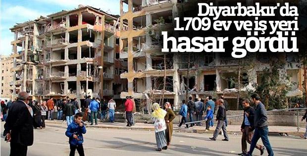 Diyarbakır'da hasar tespit çalışmaları sürüyor