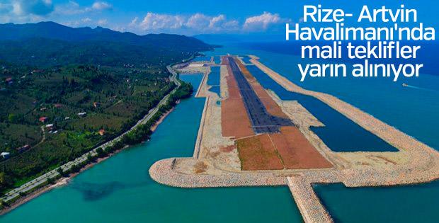 Rize- Artvin Havalimanı'nda mali teklifler yarın alınıyor