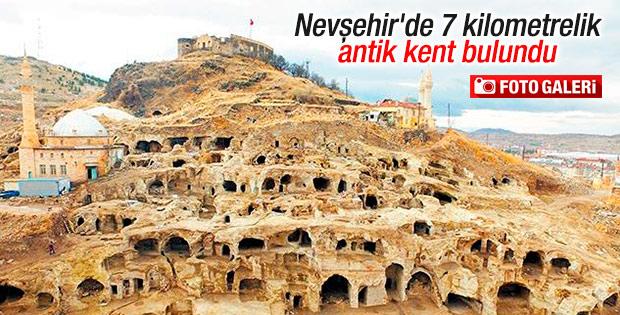 TOKİ Nevşehir'deki antik kente sahip çıktı