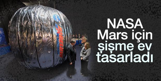 Mars için şişme ev tasarlandı