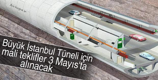 Büyük İstanbul Tüneli için mali teklif alınacak